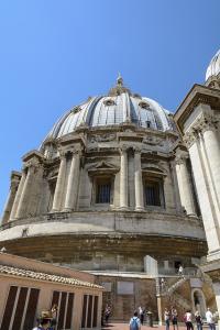 Ватикан. Крыша Собора Святого Петра