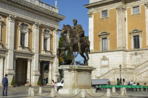 Статуя Марка Аврелия на Капитолийской площади