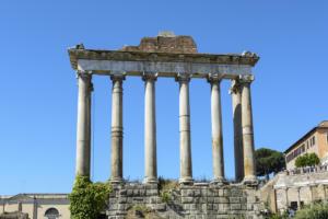 Римский Форум. Руины Храма Сатурна